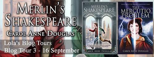 Merlin's Shakespeare banner